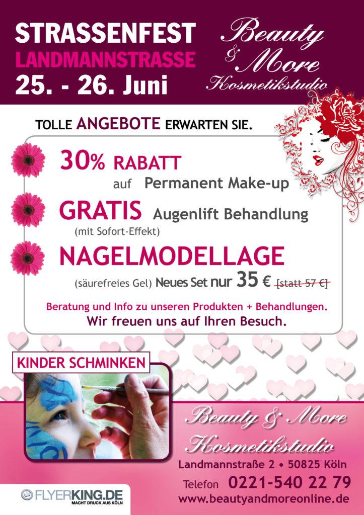 Strassenfest Landmanstrasse 25.-26. Juni 2016